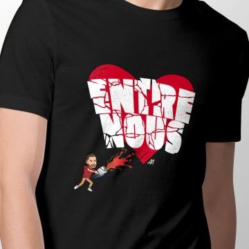 """T-shirt """"Entre nous"""" pour..."""