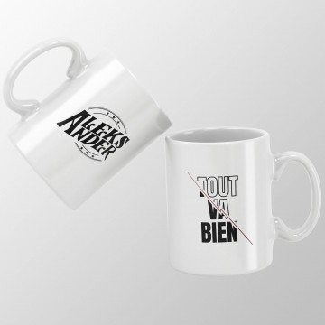 "Mug ""Tout va bien"" - Aleks..."
