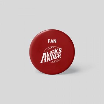 Badge Fan - Aleks Ander