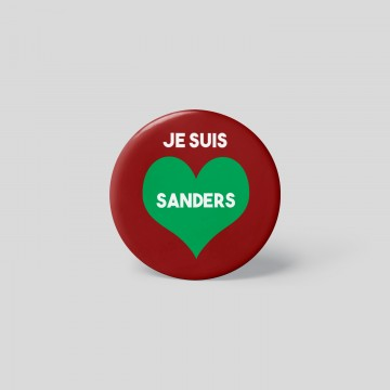"""Badge """" Je suis Sanders"""" -..."""