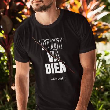 """T-shirt """"Tout va bien"""" pour..."""