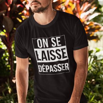 """T-shirt """"On se laisse..."""